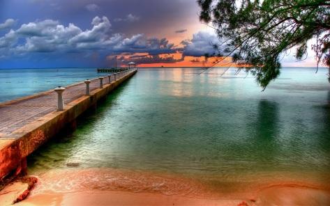 Rum Point Wallpaper, Cayman Islands