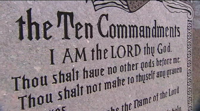 Who Changed The Ten Commandments?