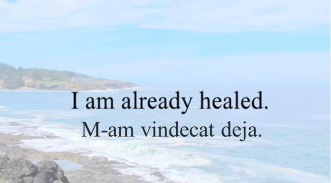 Healing Declarations in Romanian